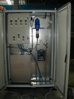 Cabinet Controls for Mixing Pumping System